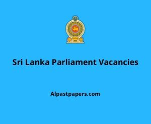 Sri lanka parliament vacancy