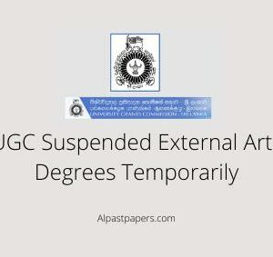 UGC Suspended External Arts Degrees Temporarily