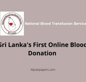 Sri Lanka's First Online Blood Donation